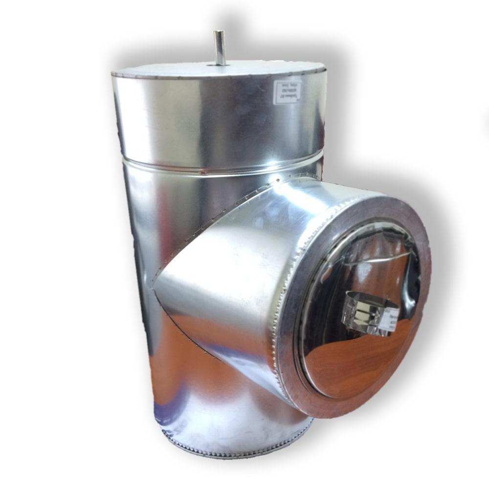 Ревизия дымоходная ø 250/320 н/оц 0,8 мм