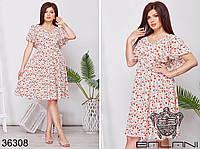 Летнее женское платье  Размеры: 48-50,52-54,56-58,60-62