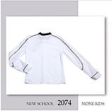 Белая школьная блузка с бантом Моне р-ры 152,164, фото 4