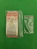 .Пакет с замком zipp  5x9 польские(100шт) (1 пач), фото 1