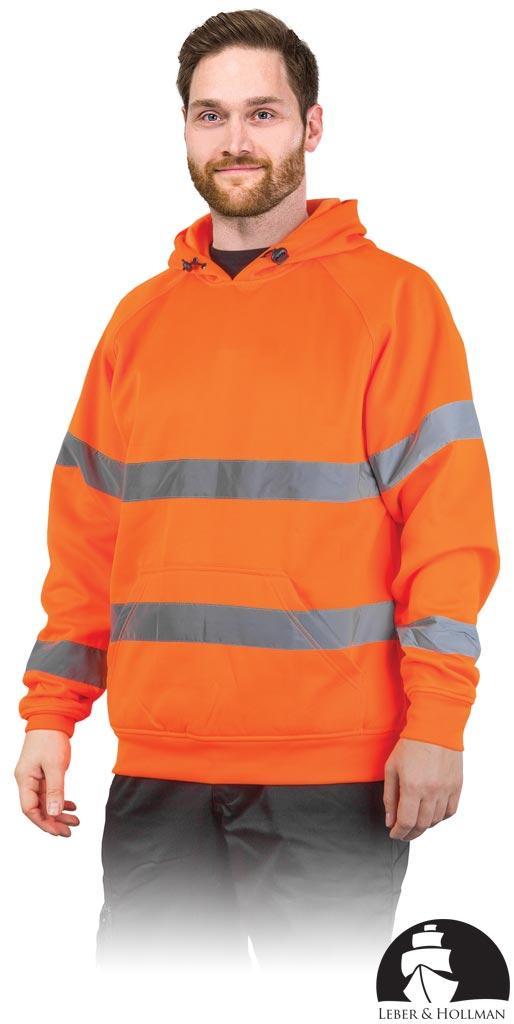 Куртка робоча чоловіча з сигнальними смугами LEBER&HOLLMAN LH-AMSEL P