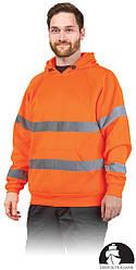 Куртка рабочая мужская с сигнальными полосами LEBER&HOLLMAN LH-AMSEL P
