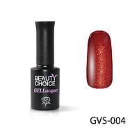 Плотный коричнево красный гель лак для ногтей с мерцанием блестками микроблеском шиммером оригинал 10 мл