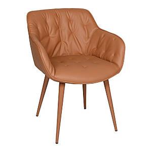 Обеденное кресло VIENA (Виена) терракот от Nicolas, экокожа