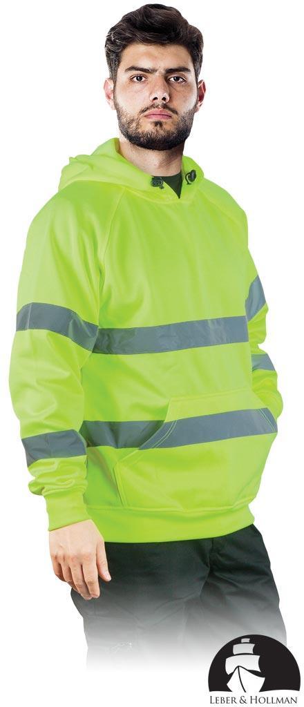 Куртка робоча чоловіча з сигнальними смугами LEBER&HOLLMAN LH-AMSEL Y