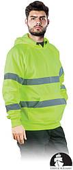 Куртка рабочая мужская с сигнальными полосами LEBER&HOLLMAN LH-AMSEL Y