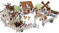 Сельский домик для кукол LOL с мебелью, Фермой и Мельницей FANA (2204)