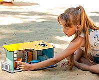 Пляжный Домик мини для кукол LOL с мебелью FANA (2401)