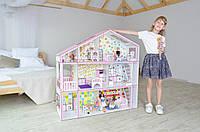 Кукольный Супер дом для Барби с мебелью FANA (3126)