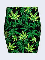 Женская  Юбка Cannabis