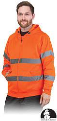 Куртка рабочая мужская сигнальная LEBER&HOLLMAN LH-AMSEL_DS P