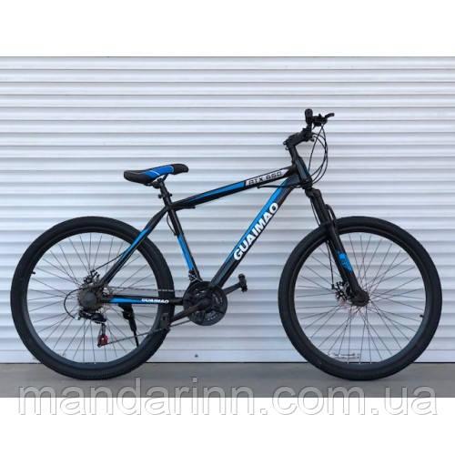 """Спортивний велосипед TopRider-275 """"27,5 Синій"""