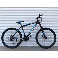 """Спортивний велосипед TopRider-275 """"27,5 Синій, фото 1"""