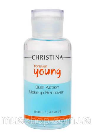 CHRISTINA Forever Young Dual Action Make Up Remover - Засіб для зняття макіяжу, 100 мл, фото 2