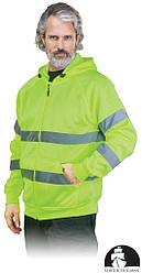 Куртка рабочая мужская сигнальная LEBER&HOLLMAN LH-AMSEL_DS Y