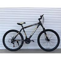 """Спортивный велосипед  TopRider-275  """"27,5  Серый, Шимано Диск тормоза., фото 1"""