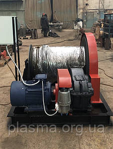 Лебідка електрична монтажна ЛМ-8