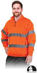 Куртка рабочая мужская с свитоотражаючимы полосами LEBER&HOLLMAN LH-AMSEL_KS P