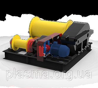 Лебідка електрична маневрова двобарабанна ЛЕМ-10 (ТЛ-10М), ЛЕМ-15 (ТЛ-15М)