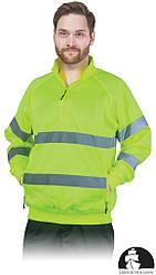 Куртка рабочая мужская с свитоотражаючимы полосами LEBER&HOLLMAN LH-AMSEL_KS Y