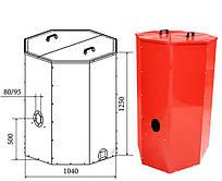 Бункер для пеллет ATMOS (H0047) 1000л