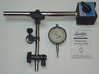 Стойка магнитная с индикатором часового типа Scala 37937