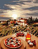 """Картина за номерами """"Італія"""" 50*65 см в коробці, ArtStory + акриловий лак"""