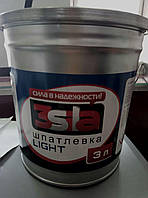3SILA Шпаклівка полегшена Light 3,0 кг