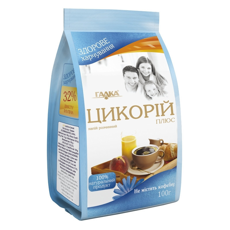 Растворимый напиток Цикорий Плюс 100 грамм