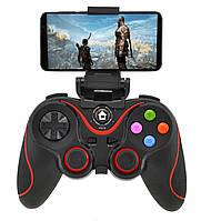 🔝 Беспроводной джойстик для телефона, пк, ps3, телевизора, пубг Bluetooth gamepad V8, геймпад для смартфона   🎁%🚚