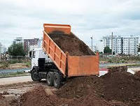 Грунт на подсыпку (подсыпной грунт) с доставкой самосвалами 25-30 тонн. Киев и обл.