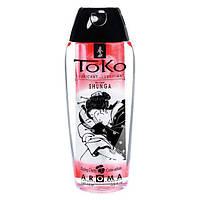 Лубрикант на водной основе Shunga Toko AROMA - Blazing Сherry (165 мл), не содержит сахара