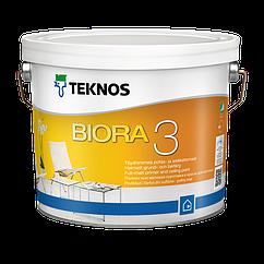 Краска для потолка Teknos Biora 3 9л