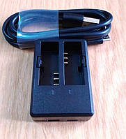 USB зарядний пристрій для екшн-камер SJCAM SJ4000 на дві батареї