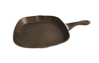 Антипригарная сковорода гриль Lessner 28x28 см 88365