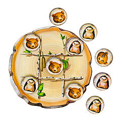 Крестики-нолики: Медведи и ёжики