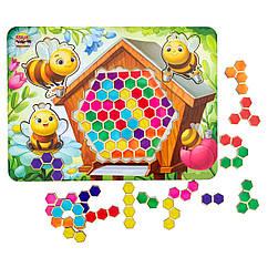 Сортер - тетрис: Весёлые пчёлки