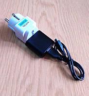 Зарядний пристрій 5В 1А з адаптером живлення