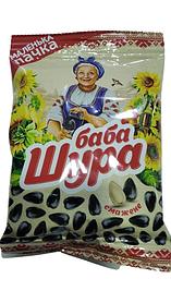 """Насіння соняшника смажене """"Баба Шура"""" 90г"""