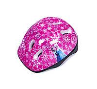 """Шлем детский розовый """"Принцессы Frozen - снежинки"""""""