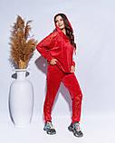 Оригинальный велюровый костюм размеры: 48-50,52-54,56,58,60, фото 9