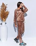 Оригинальный велюровый костюм размеры: 48-50,52-54,56,58,60, фото 2