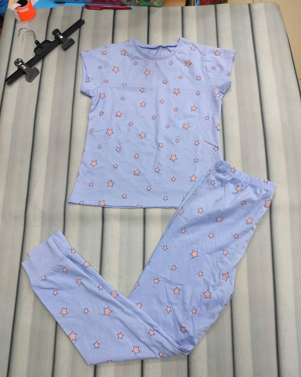 Пижама для девочки со штанами