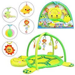 Развивающий игровой коврик для младенца 898-12