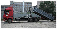Вывоз строительных и крупногабаритных отходов (контейнер 15 куб.м.)