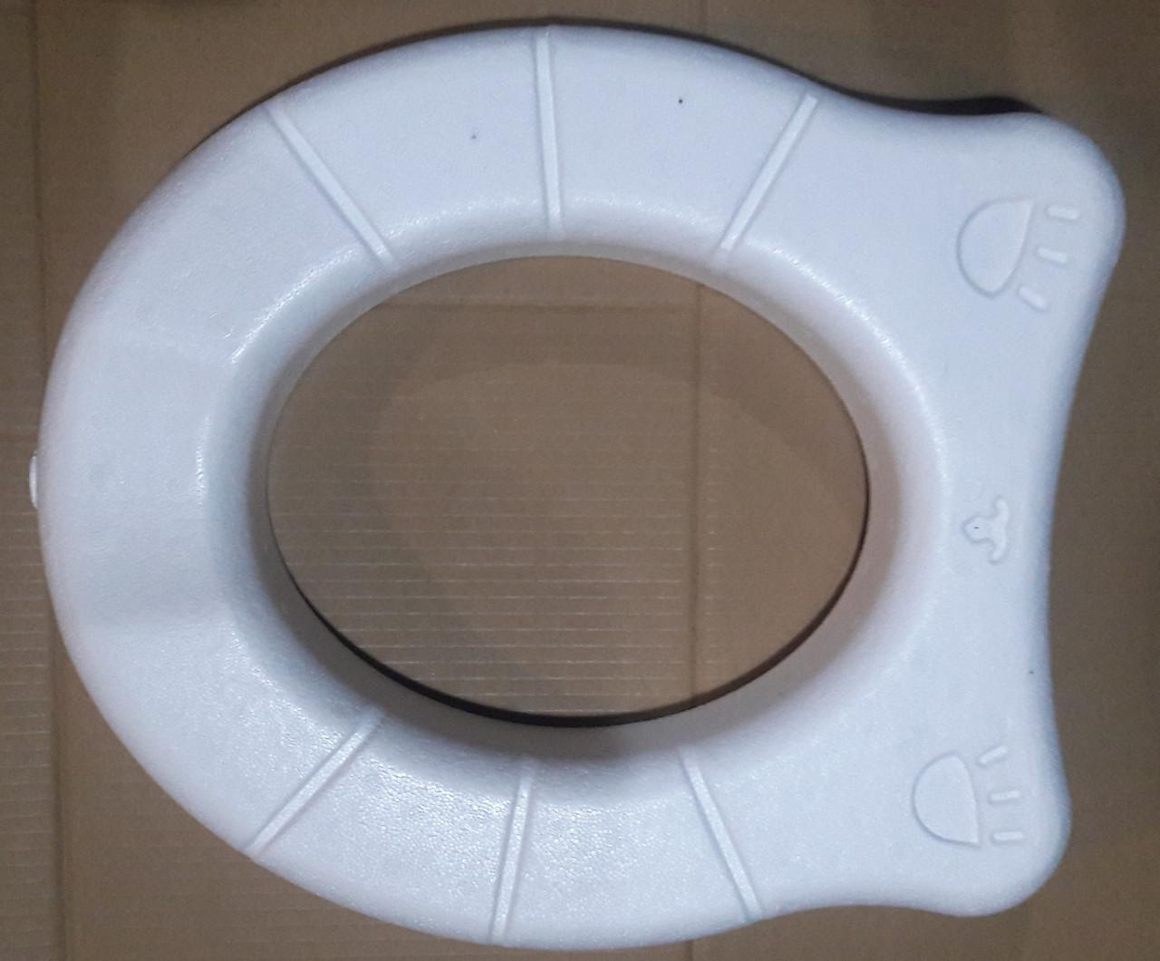 """Сидение пенопластовое для уличного туалета """"Тёплое счастье"""""""