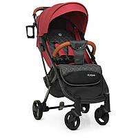 Легкая прогулочная коляска EL CAMINO M 3910 Carmine Red | Коляска Йога 2 Красная