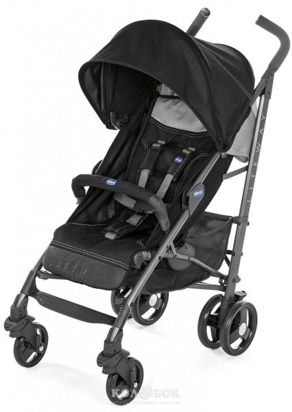 Коляска Chicco Lite Way 3 Top Stroller Коляска Chicco Lite Way 3 Top Stroller Black