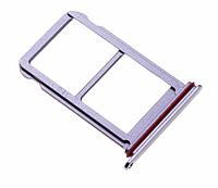 Лоток для сим карты для Huawei P20 Pro, фиолетовый, Twilight Purple, на две Sim-карты