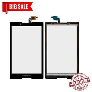 Сенсор (тачскрін) для планшетів Lenovo Tab 2 A8-50F, Tab 2 A8-50LC, чорний, фото 2